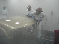 our Central Texas Paint and Body technicians are learning new techniques for laying clear coat. ... the finish that sets our paint shop away from many others.